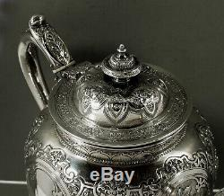 Scottish Sterling Tea Set 1883 Chinese Tea Merchants