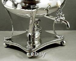 Scottish Sterling Tea Set Tea Urn 1813 JOHN ZEIGLER
