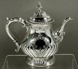 Shreve Sterling Tea Set c1920 GEORGIAN 75 OUNCES