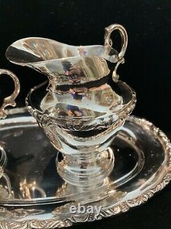 Sterling Silver 925 Mexico Tea Set