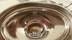 Sterling Silver GORHAM Plymouth Tea Set With Sheffield Serving Tray! Very Rare