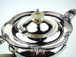 Sterling Silver Tea Coffee Set Walker & Hall Sheffield Hallmark 1931 1938