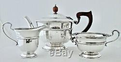 Sterling Silver Tea Set 1932 George V Excellent