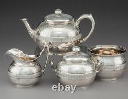 Sterling Silver Tiffany and Co. Tea Set Circa 1860