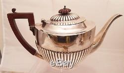Sterling Tea Set by Birks Six Piece