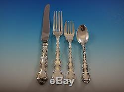 Strasbourg by Gorham Sterling Silver Flatware Set for 12 Dinner Size and Tea Set