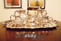 Tea Set Sterling Silver 925 by Camusso