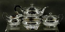 Theodore Starr Sterling Tea Set c1910 GEORGIAN