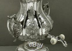 Thomas Whartenby Silver Tea Set Kettle & Stand c1810