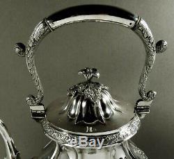 Thomas Whartenby Silver Tea Set c1810 WINTERTHUR MUSEUM