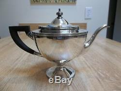 Tiffany & Co. Sterling Silver 4 Piece Tea Set Pattern 17085 From 1908 Over 2 Lbs