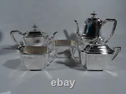 Tiffany Hampton Coffee & Tea Set 18389A 5 Piece American Sterling Silver