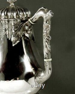 Tiffany Sterling Silver Tea Set c1860 69 Ounces