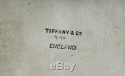 Tiffany Sterling Tea Set 1934 Clan Byres Crest