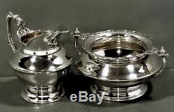 Tiffany Sterling Tea Set & Tray c1907 PERSIAN DESIGN 90 OUNCES