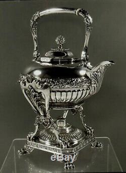 Tiffany Sterling Tea Set c1891 80 OZ. PERSIAN