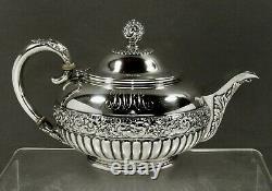Tiffany Sterling Tea Set c1891 PERSIAN MANNER