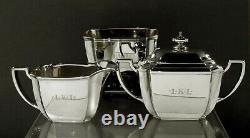 Tiffany Sterling Tea Set c1910 HAMPTON
