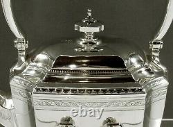 Tiffany Sterling Tea Set c1910 HAND DECORATED