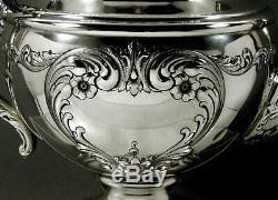 Towle Sterling Silver Tea Set c1950 Old Master No Mono