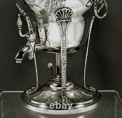 Tuttle Sterling Lion Tea Set 1924 GEORGE II PATTERN
