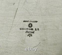 Tuttle Sterling Tea Set Tray 1924 GEORGE III PATTERN