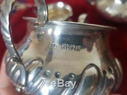 Vintage Bachelor Sterling Silver Tea Set
