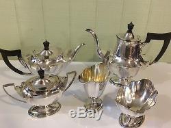 Vintage Gorham Sterling Silver 5 Piece Tea/Coffee Set Dates 1916