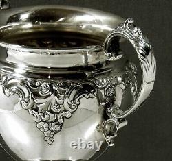 Wallace Sterling Tea Set c1945 GRANDE BAROQUE