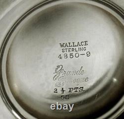 Wallace Sterling Tea Set c1950 GRANDE BAROQUE