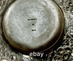 Warner Sterling Tea Set c1850 HAND DECORATED
