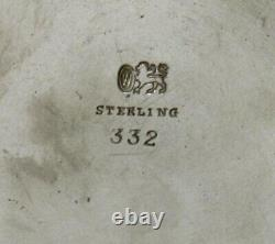 Whiting Sterling Tea Set c1880 FAIRMAN FAMILY