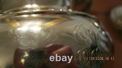 William Thomson Coin Silver Tea Set circa 1825