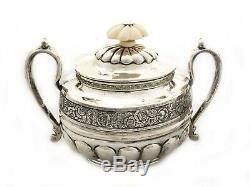 1830-1835, 84 Russe Argent Spécial Et Set Rare Thé