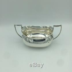 1924 Chester Angleterre 3 Piece Sterling Silver Set Thé
