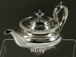 Anglais Sterling Tea Set 1829 William Bateman No Mono