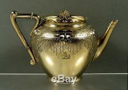 Anglais Sterling Tea Set 1872 Frederick Elkington