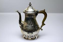 Antique Gorham D'argent Sterling 5 Pièce Set Thé Et Café
