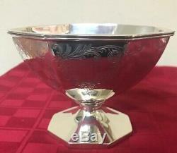 Antique Gorham En Argent Sterling Teapot Creamer Sugar Bowl 4 Pc Tea Set C1907