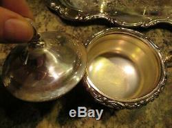 Antique Newport Gorham Silver Plate Café / Thé Service Set 5 Pièces
