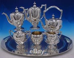 Antique Pointu Par Reed & Barton Sterling Silver 7 Piece Tea Set (# 4225)