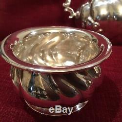 Antique Tea Set Sterling Silver