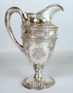 Antique Vtg J. S Co Barbour International Silver 210g Sterling À Thé Creamer