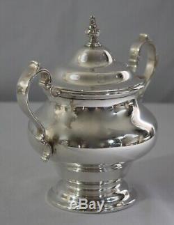 Argent Sterling Gorham 6 Pièces Tea / Café Y Compris Les Déchets Bowl. 1951