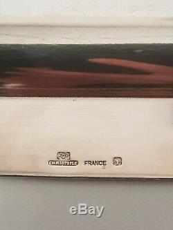 Christofle Plateau 5pcs Mercury Vintage Des Années 1970 Mercury Set De Thé Lino Sabattini