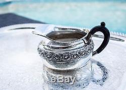 Complet Heavy 6-pc 1881 Tiffany & Co Sterling Café, Thé, Crémier, Sucre, Set