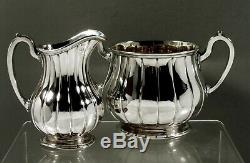English Sterling Tea Set 1853 Royal Argenterie