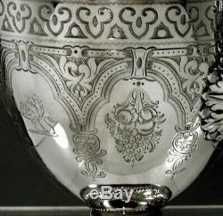 English Sterling Tea Set 1882 Néo-renaissance