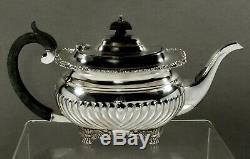 English Sterling Tea Set 1919-1925 Georgian