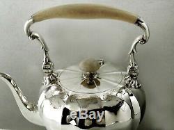 English Sterling Tea Set 1920 Personnalisé James Robinson